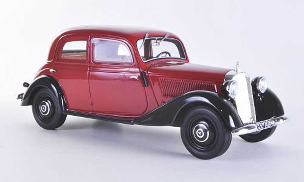 Mercedes 170 1/18 BoS Models V red/black limitierte Auflage 1.000 Stuck 1939 diecast model cars