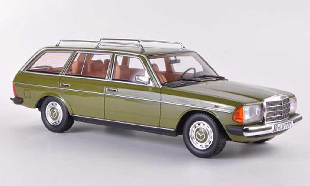 Mercedes 200 1/18 BoS Models T (S123) gun limitierte Auflage 1.000 Stuck 1982 miniature