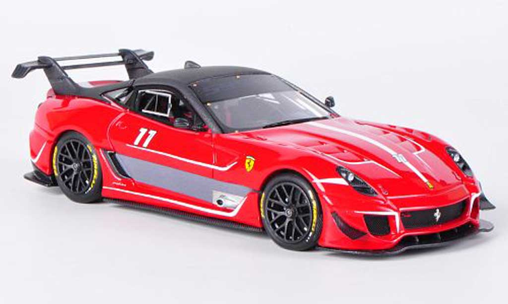 Ferrari 599 XX 1/43 Look Smart Evo No.11 T.Shooshani diecast model cars