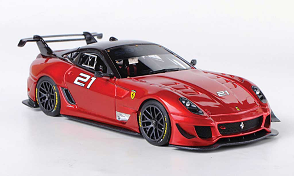 Ferrari 599 XX 1/43 Look Smart Evo No.21 diecast model cars