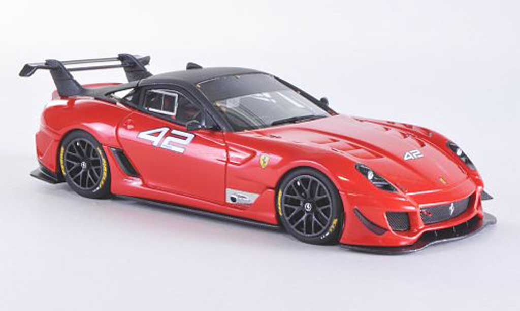 Ferrari 599 XX 1/43 Look Smart EVO No.42 red F1 2007/gray diecast