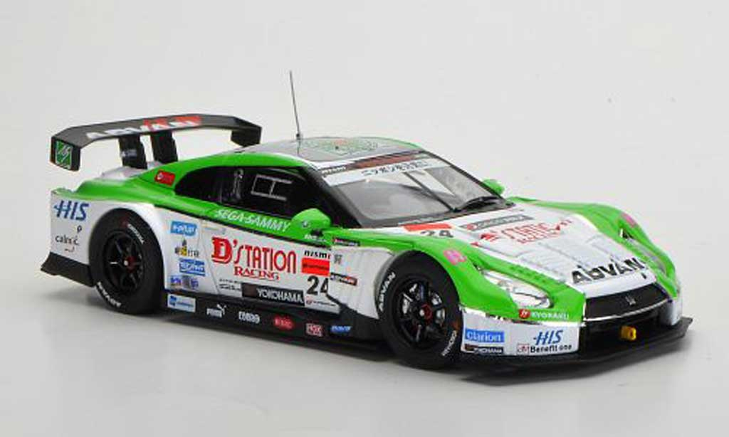 Nissan Skyline R35 1/43 Ebbro GT-R No.24 D'station Advan Super GT500 2012 miniature