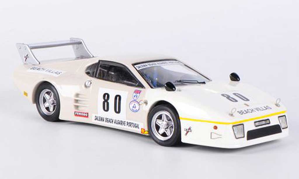 Ferrari 512 BB LM 1/43 Best No.80 Phillips / Earle / Jones Silverstone 1982 diecast model cars