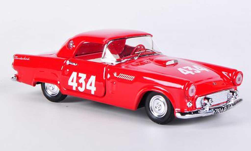 Ford Thunderbird 1957 1/43 Rio No.434 Smadsa/Raselli Mille Miglia miniature