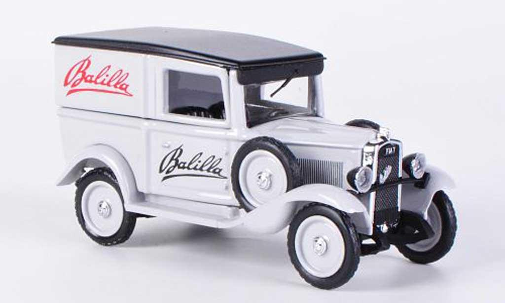 Fiat Balilla 1935 1/43 Rio Kasten Werbefahrzeug mit Plakatwand und Figur 1935 diecast