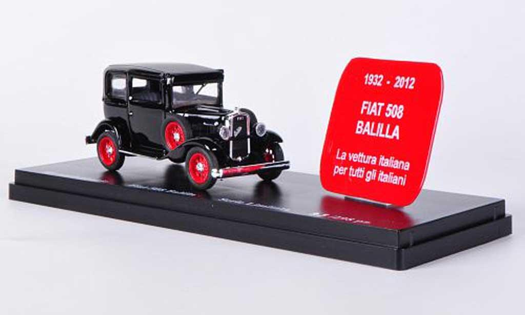 Fiat 508 1/43 Rio Balilla noire 80. Jahrestag - 1932 / 2012 miniature