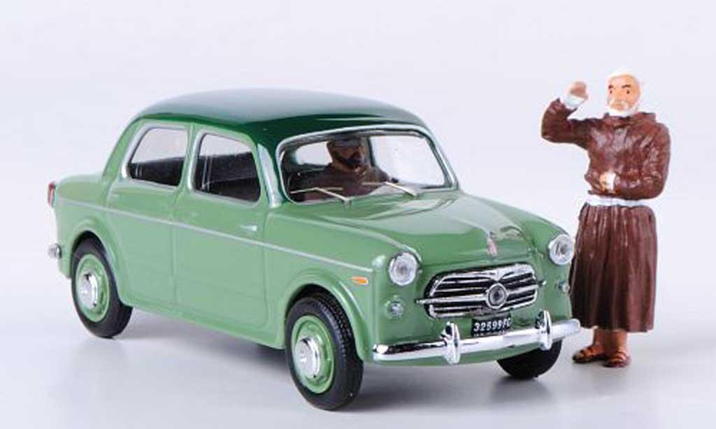 Fiat 1100 1956 1/43 Rio TV Pater Pio San Giovanni rougeondo 5. Mai miniature