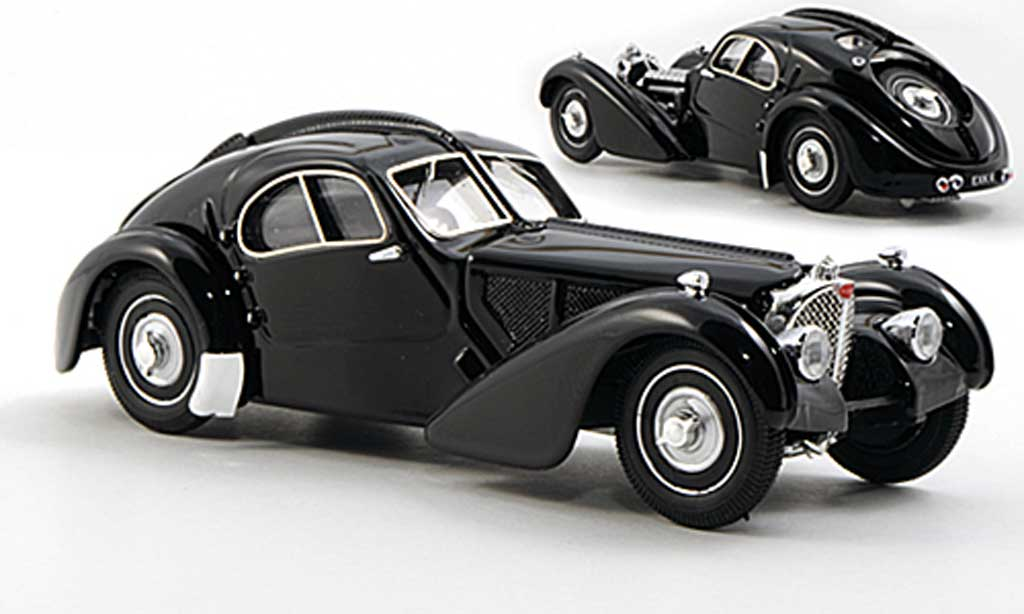 Bugatti 57 SC 1/43 Rio Atlantic noire Ralph Lauren Museum miniature