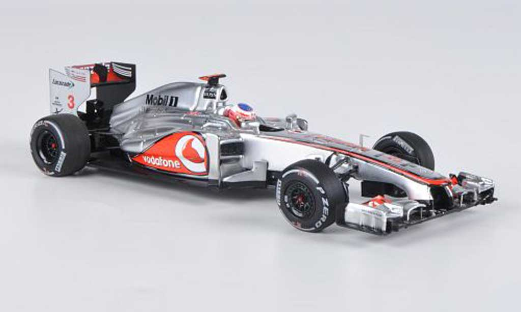 Mercedes F1 2012 1/43 Minichamps McLaren MP4-27 No.3 J.Button GP Australien miniature