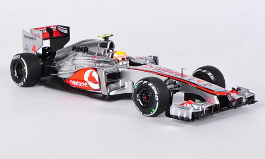 McLaren F1 2012 1/43 Minichamps Mercedes MP4-27 No.4 L.Hamilton GP Australien miniature