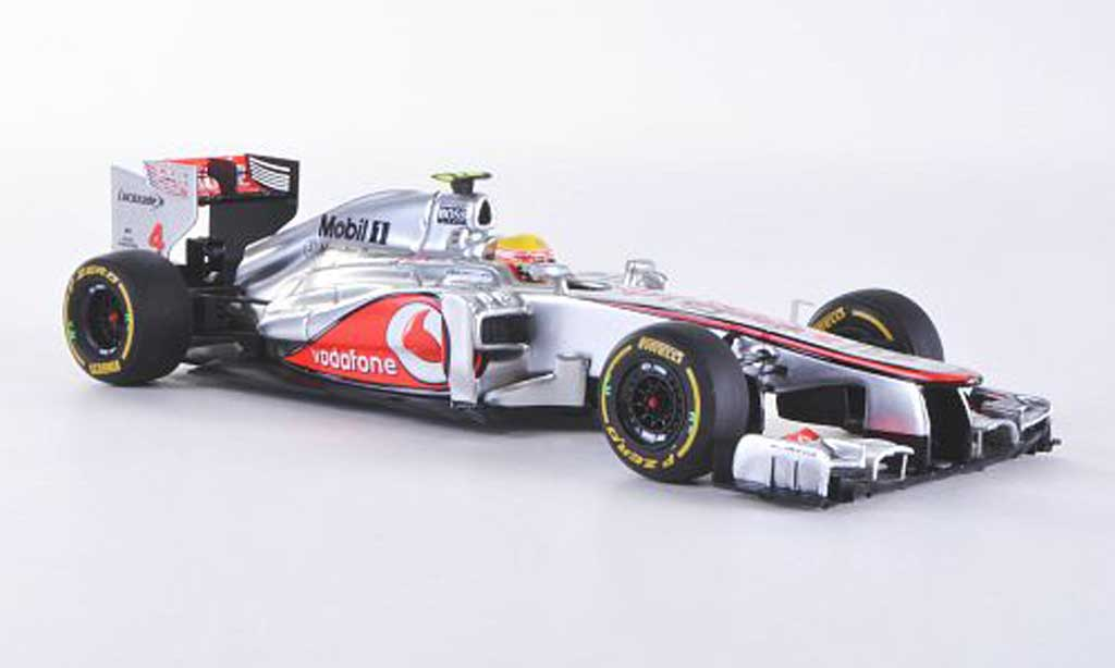 McLaren F1 2012 1/43 Minichamps Mercedes MP4-27 No.4 Vodafone L.Hamilton GP Kanada miniature