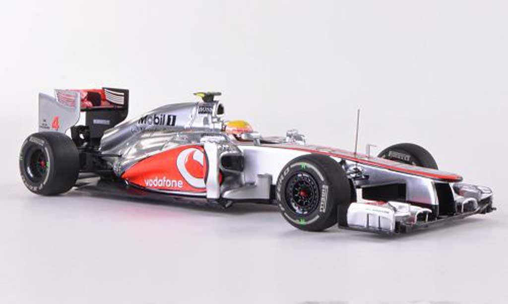 McLaren F1 2012 1/43 Minichamps 2012 Mercedes MP4-27 No.4 Vodafone L.Hamilton GP Ungarn miniature
