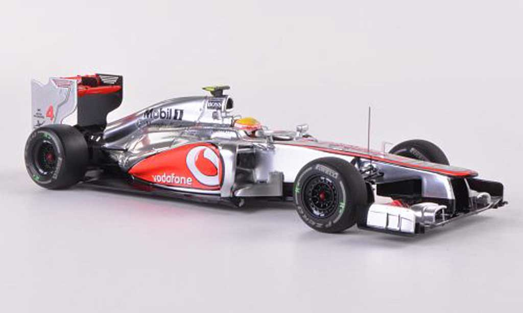 McLaren F1 2012 1/43 Minichamps Mercedes MP4-27 No.4 Vodafone L.Hamilton GP Italien miniature