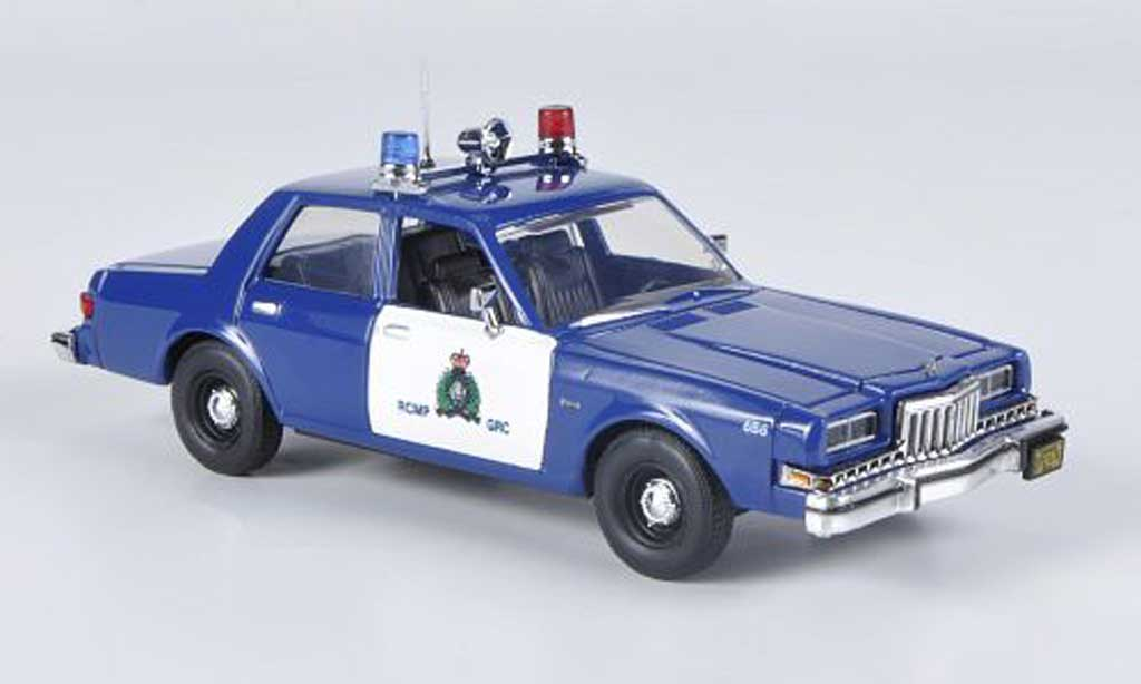 Dodge Diplomat 1/43 First Response RCMP - Royal Canadian Mounted Police 1985 diecast