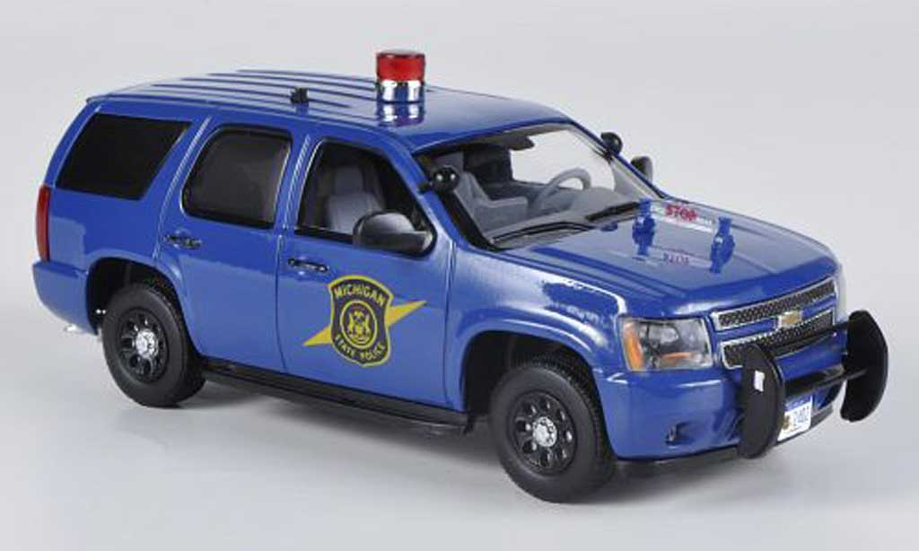 Chevrolet Tahoe 1/43 First Response Michigan State Police 2011 miniatura
