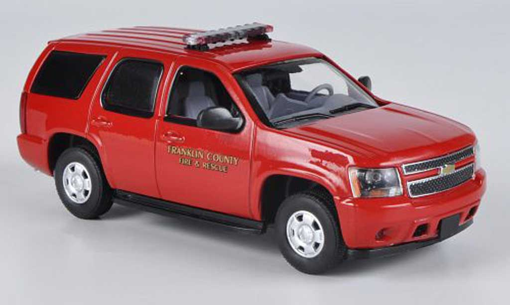 Chevrolet Tahoe 1/43 First Response Franklin County - Kentucky Fire Dept. 2011 miniatura