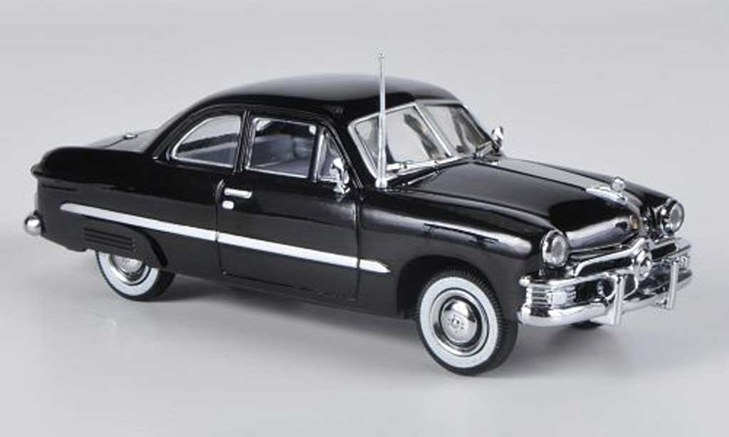 Ford Custom 1949 1/43 American Heritage Models 2-portes Coupe noire miniature