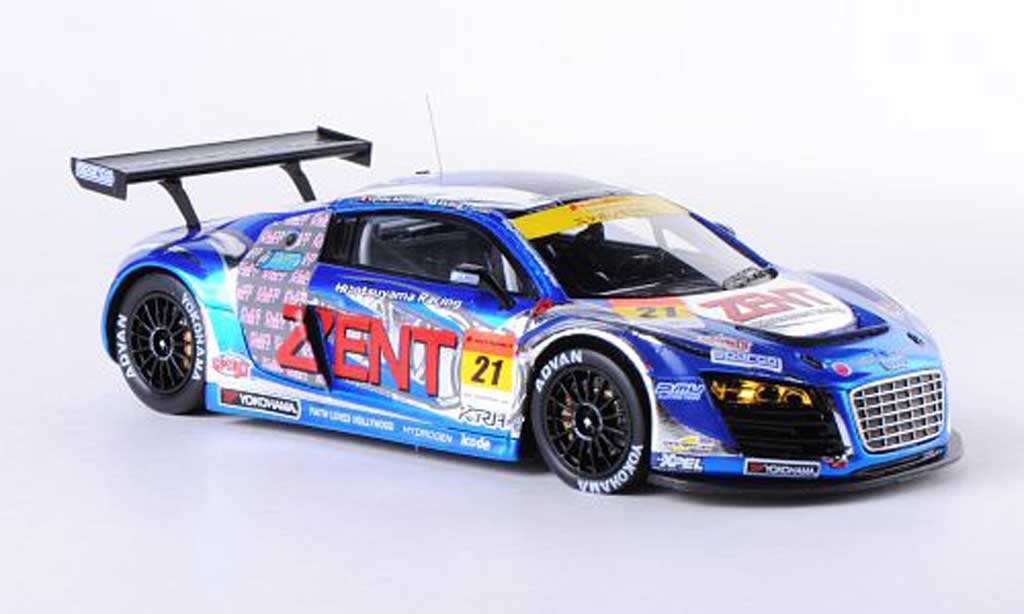Audi R8 LMS 1/43 Ebbro LMS No.21 Zent A.Tsuzuki/C.Allemann SGT300 2012 diecast model cars