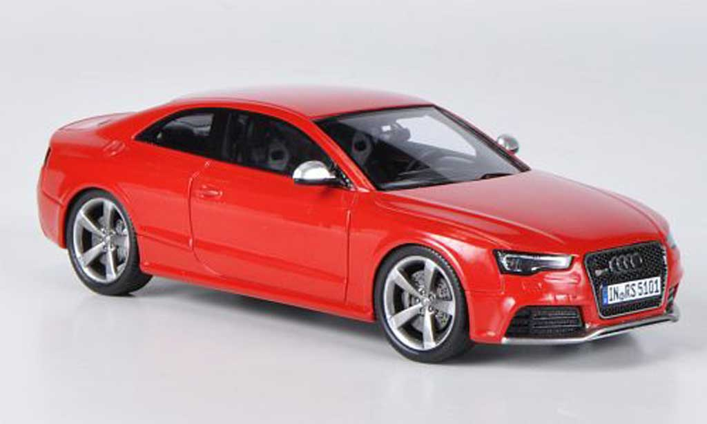 Audi RS5 1/43 Spark coupe red 2012 diecast model cars