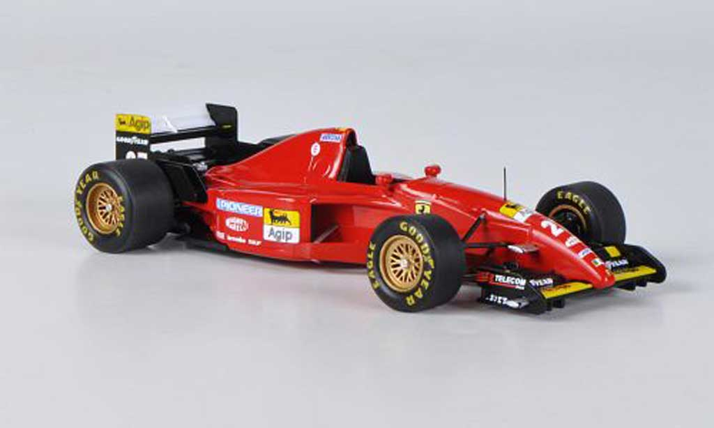 Ferrari 412 1/43 Fujimi T2 No.27 J.Alesi GP Kanada 1995 miniature