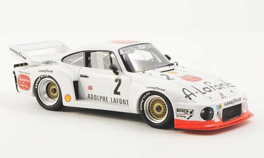 Porsche 935 1978 1/43 Spark No.2 Adolphe Lafont B.Wollek / H.Pescarolo 1000km Dijon miniature