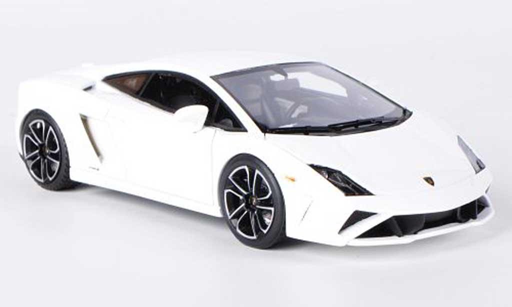 Lamborghini Gallardo LP560-4 1/43 Look Smart LP560-4 bianca miniatura