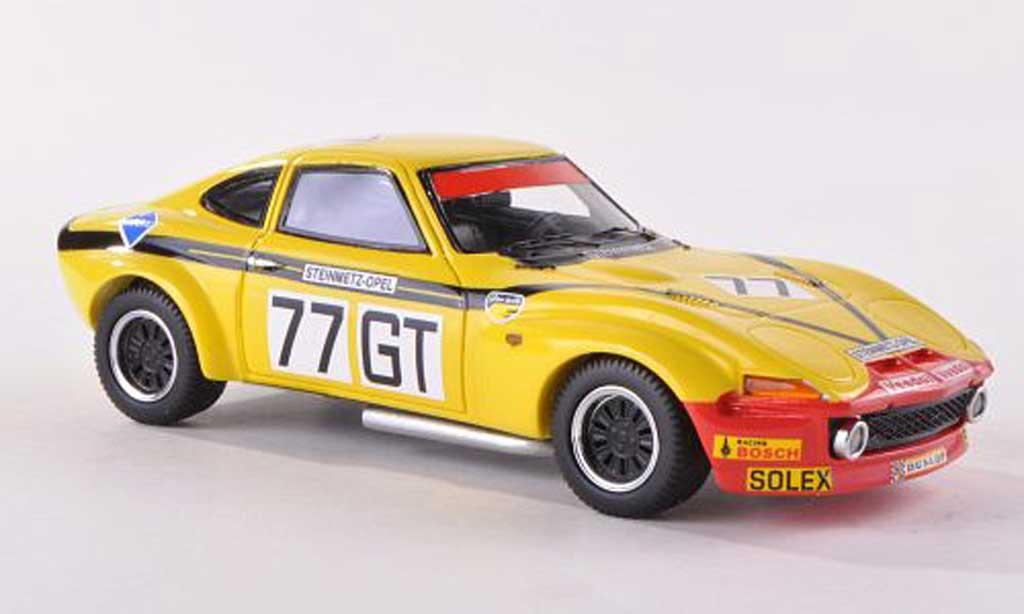 Opel GT 1/43 Neo Gr.4 No.77 Steinmetz 1000km Nuerburgring  1972 W.Christmann/J.Ragnotti miniature