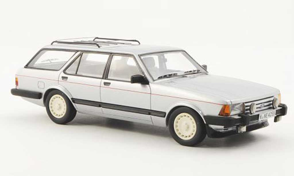 Ford Granada 1/43 Neo MK II Turnier 2.8 Injection grise 1984 miniature