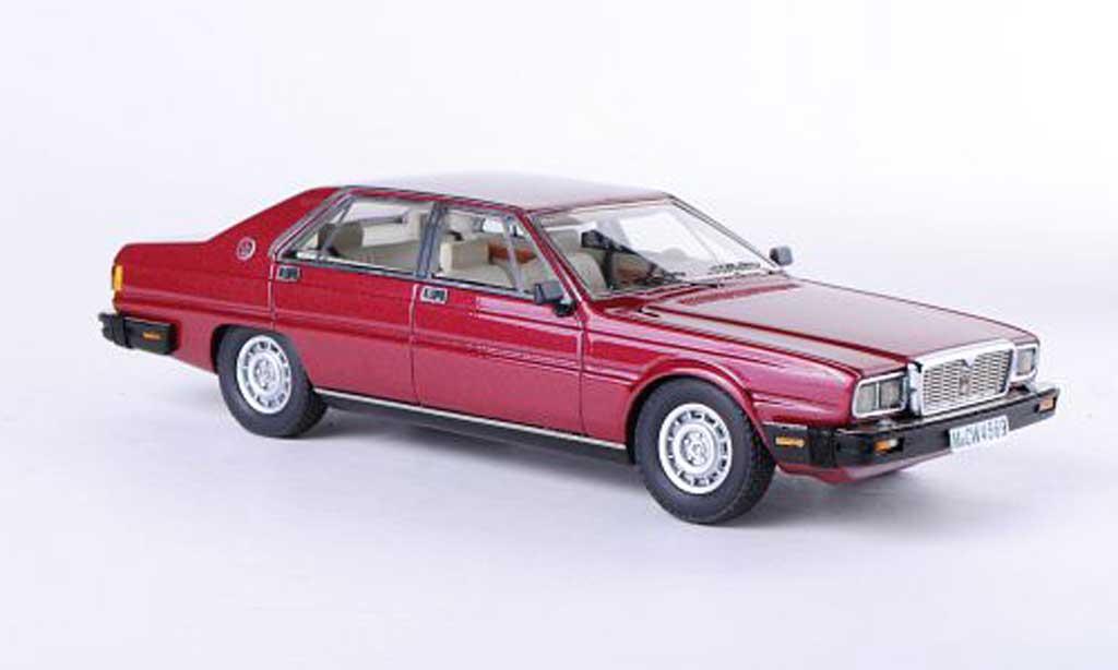 Maserati Quattroporte 1/43 Neo III rouge limitierte Auflage 300 Stuck 1978 miniature