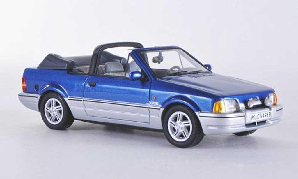 Ford Escort XR3 1/43 Neo MkIV Cabriolet bleu/grise limitierte Auflage 300  1986 miniature