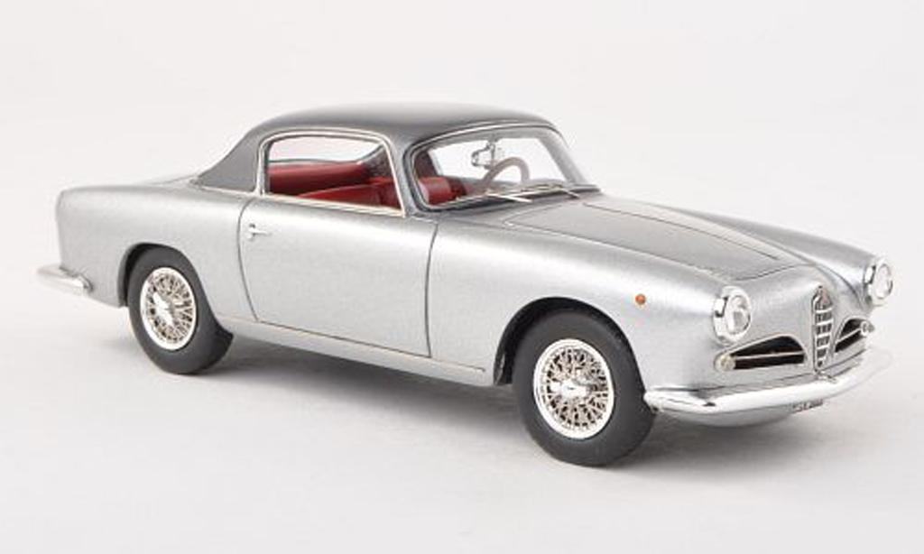 Alfa Romeo 1900 Sprint 1/43 Neo C Touring grise/noire-gris limitee edition 300 piece 1956 miniature
