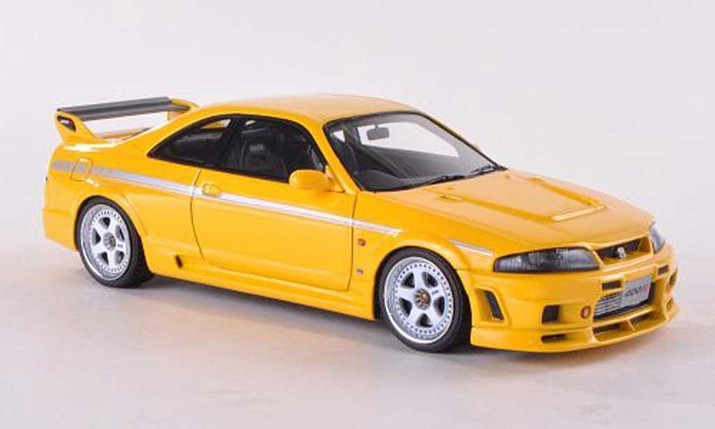 Nissan Skyline R33 1/43 HPI Nismo 400R jaune RHD  miniature