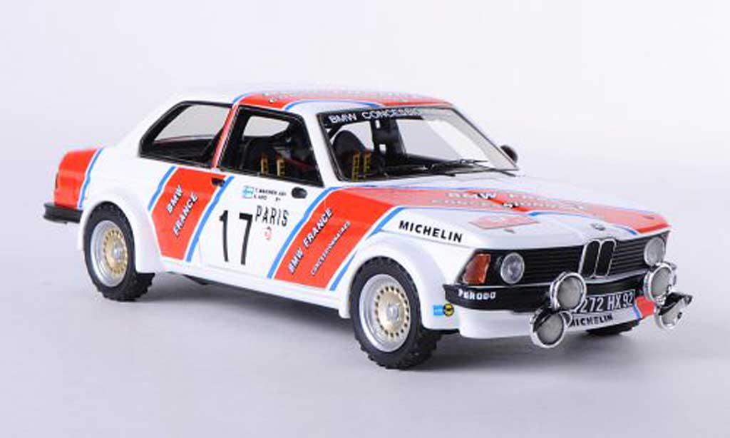 Bmw 320 E21 1/43 Neo i (E21) No.17 France T.Mekinen / A.Aho Rally Monte Carlo 1980 diecast