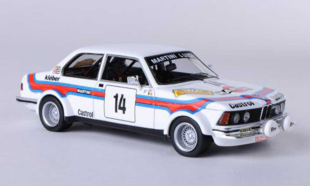Bmw 323 1/43 Neo Gr.2 (E21) No.14 Martini Racing H.Delbar / W.Lux Boucles de Spa 1980 diecast model cars