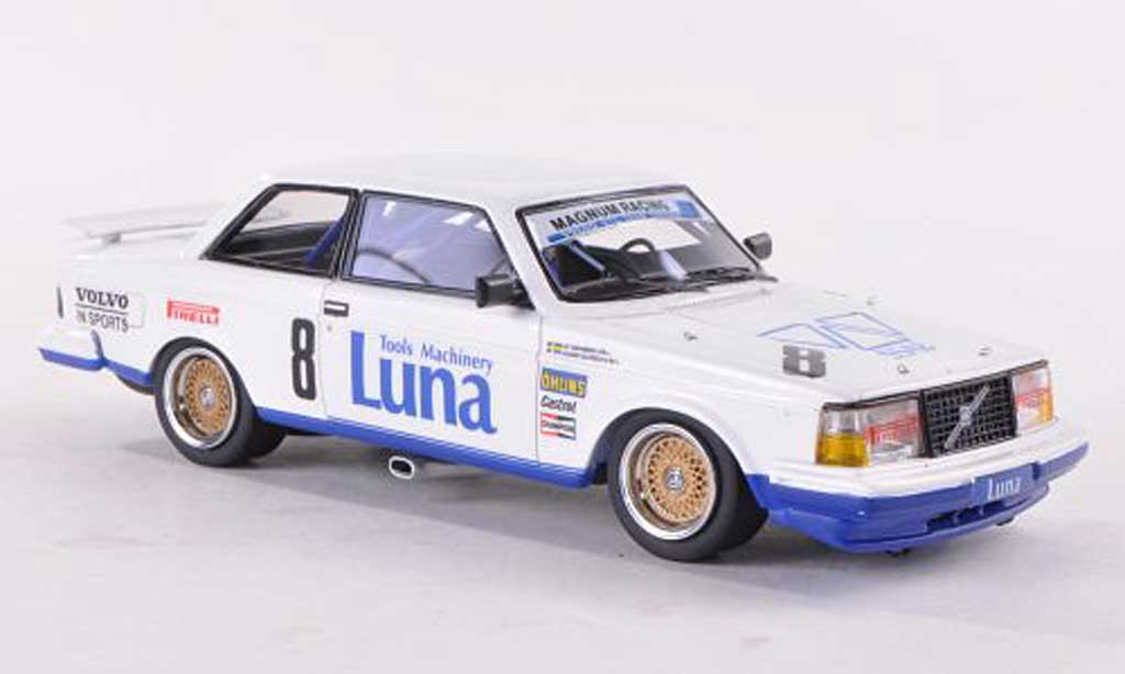 Volvo 240 Turbo 1/43 Neo No.8 Magnum Racing ETCC 1985 U.Granberg/A.Olofsson diecast model cars