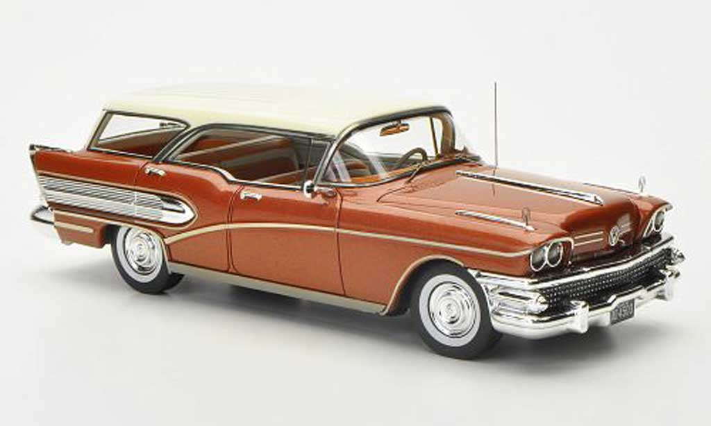 Buick Century 1/43 American Excellence Caballero kupfer limitierte Auflage 300 Stuck 1958 miniature