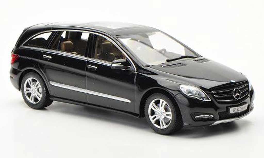 Mercedes Classe R 1/43 Minichamps (W251) noire 2010 miniature