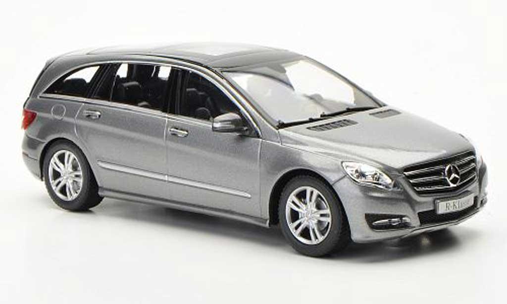 Mercedes Classe R 1/43 Minichamps (W251) grise 2010 miniature