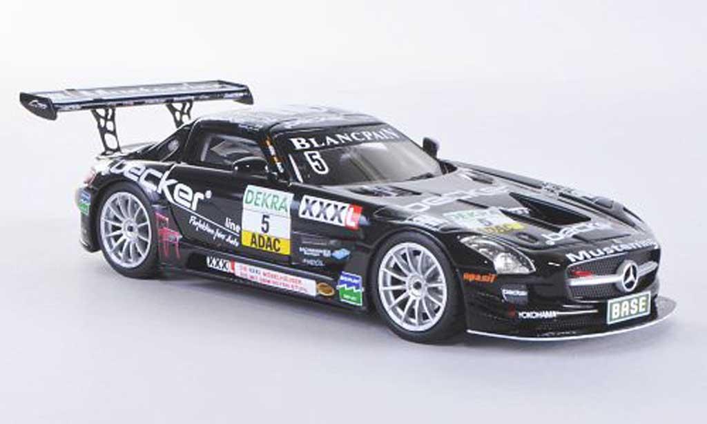 Mercedes SLS 1/43 Schuco AMG GT3 No.5 MS Racing Team Asch / Gotz ADAC GT Masters-Saison 2012 miniature