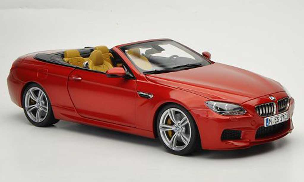 Bmw M6 F12 1/18 Paragon orange 2012 modellino in miniatura