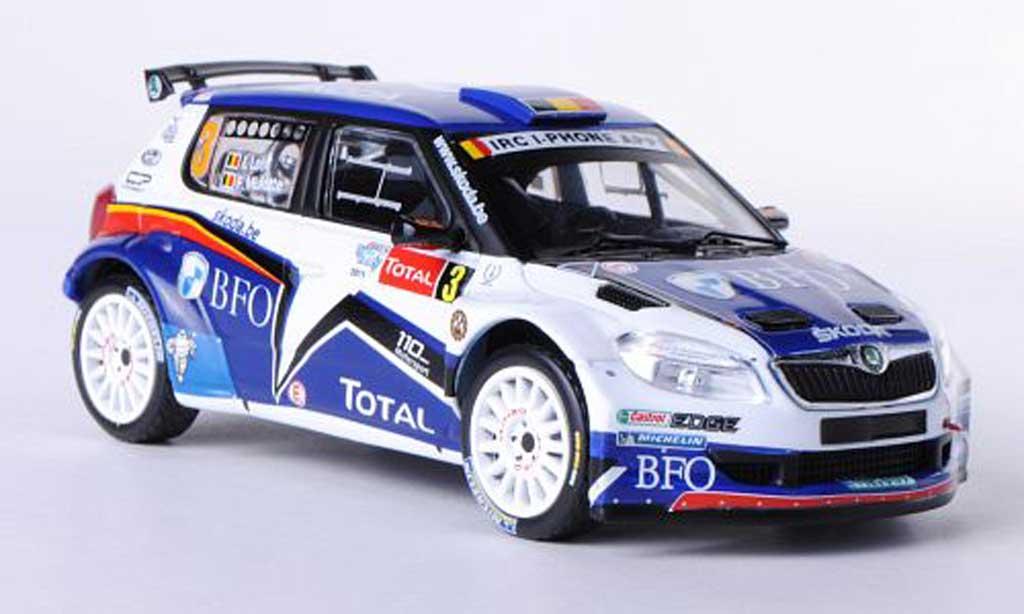 Skoda Fabia S2000 1/43 IXO No.3 BFO F.Loix / F.Miclotte Rally Ypern 2011 miniature