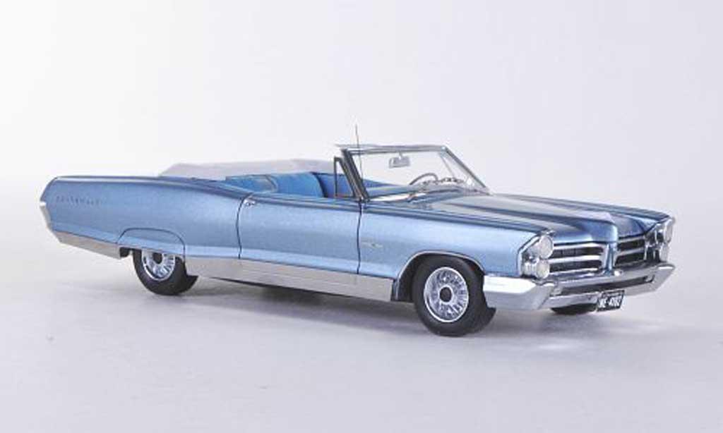 Pontiac Bonneville 1/43 American Excellence Convertible bleu limitierte Auflage 500 Stuck  1965 miniature