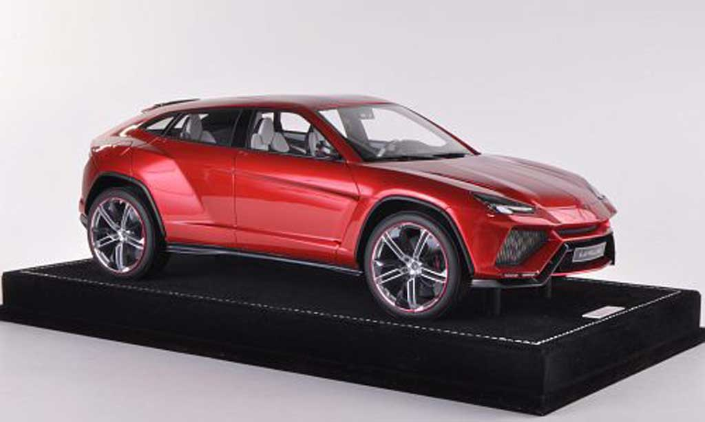 Lamborghini Urus 1/18 MR Collection rouge 2012 miniature