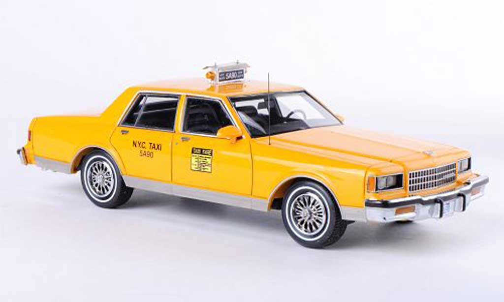 Diecast Chevrolet Caprice Classic 1/43 Neo Taxi New York 1985