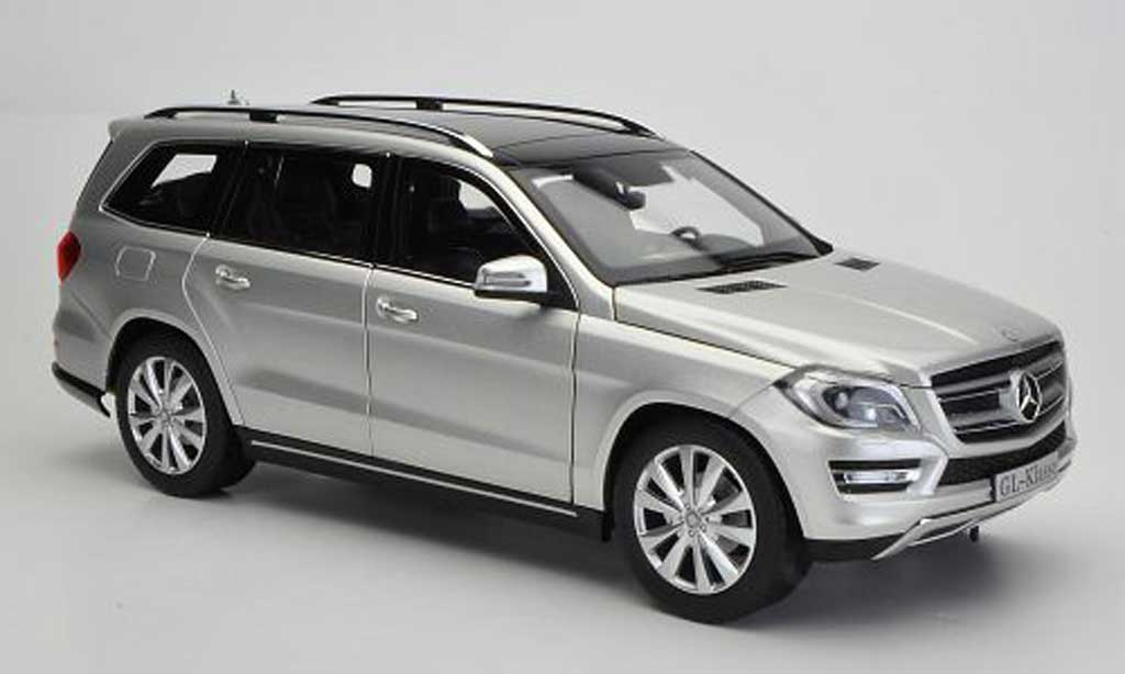 Mercedes Classe GLK 1/18 Norev GL-Klasse (X166) grise 2012 miniature