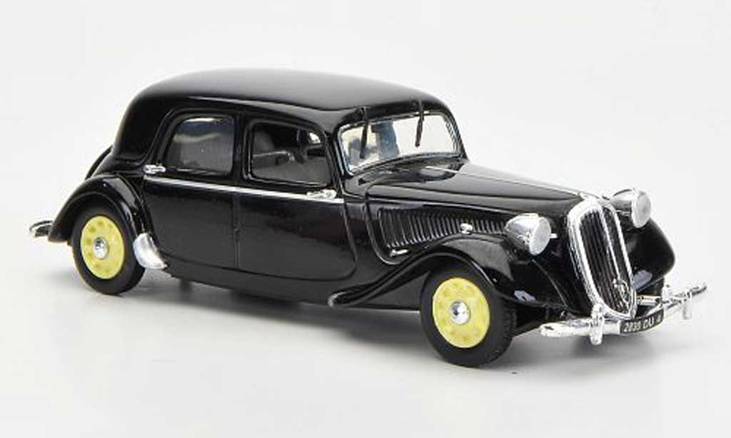 Citroen Traction 15 1/43 Nostalgie Traction 15 Six G noire 1939 miniature