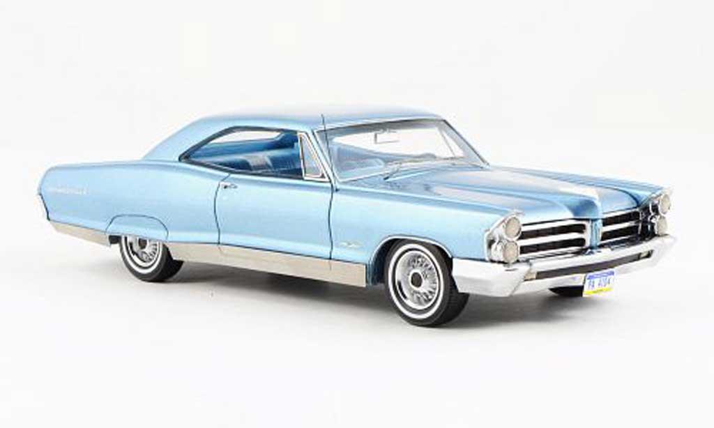 Pontiac Bonneville 1/43 Neo Hardtop Coupe bleu 1965 miniature