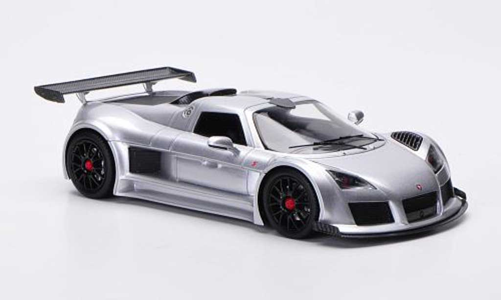 Gumpert Apollo 1/43 FrontiArt S grise miniature