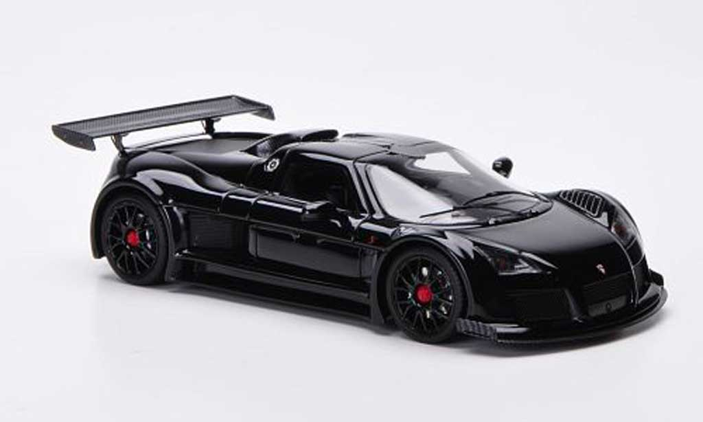 Gumpert Apollo 1/43 FrontiArt S black diecast model cars