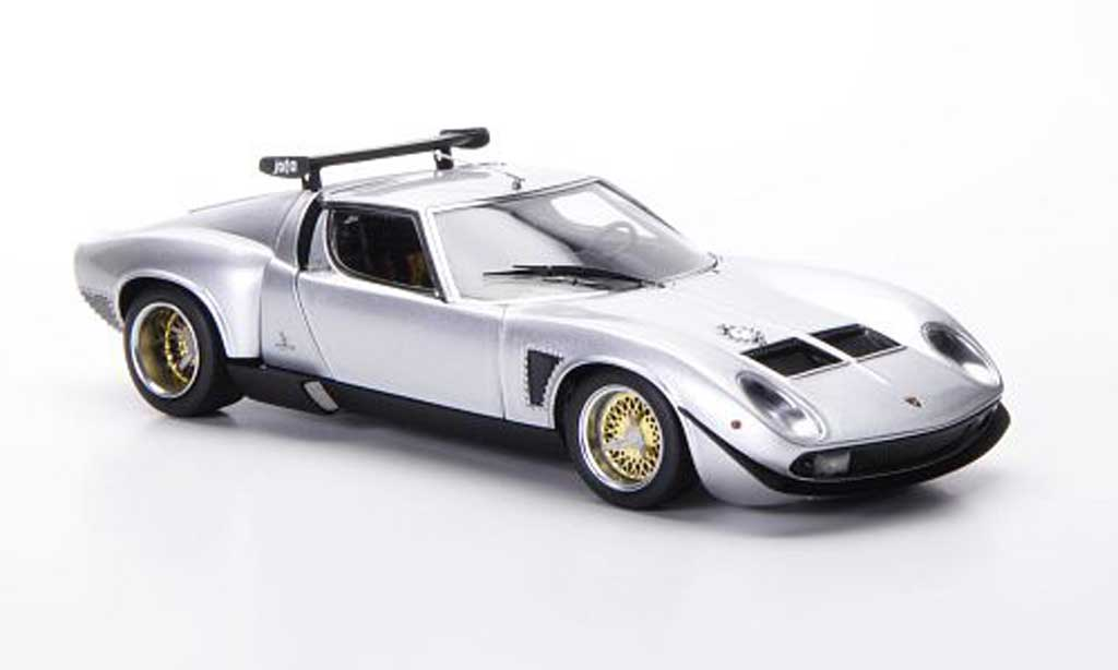 Lamborghini Miura Jota 1/43 FrontiArt SVR gray 1972 diecast